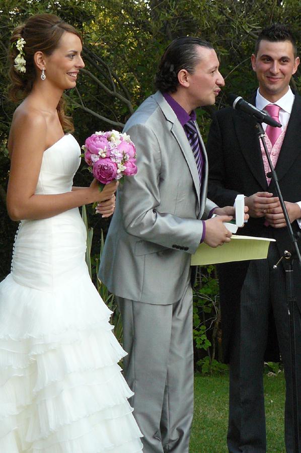 Oficiantes de boda